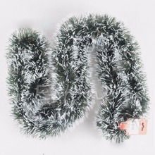 1Pc 200cm Christmas Party Tree Hanging Garland Ribbon String Decoration Home Xmas Festival Ornament Hot C42