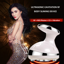 2018 ultrasonic body massager loss weight rf radio frequency slimming cavitation fat remove beauty tool RF Cavitation Ultrasonic Slimming Massager LED Fat Burner Anti Cellulite Lipo Device Skin Tightening Weight Loss Beauty Machine