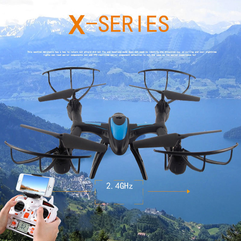Professional drone X500 2.4G 4CH FPV rc quadcopter with camera HD 2MP WIFI FPV helicopter with camera HD vs X8G QR x350 mini drone rc helicopter quadrocopter headless model drons remote control toys for kids dron copter vs jjrc h36 rc drone hobbies