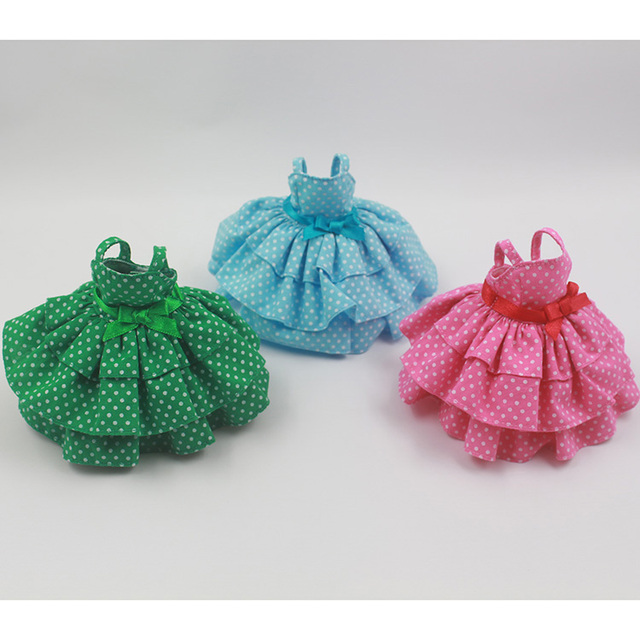 New Arrive Blyth Doll Clothing Accessrioes 3 Different color Dress Free Shipping