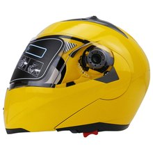 New Motorcycle Helmet Full Face Dual Visor Street Bike with Transparent Shield with ABS Material with Hot Pressure Sponge Liner