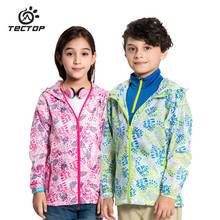 Summer Boys Girls Hiking Jackets Rash Guards Kids Softshell Waterproof Breathable Children Clothes Outdoor Windbreaker Jacket