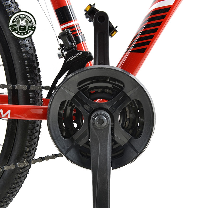 Love Freedom 21 24 Speed Aluminum Alloy Bicycle 29 Inch Mountain Bike Variable Speed Dual Disc Love Freedom 21/24 Speed Aluminum Alloy Bicycle  29 Inch Mountain Bike Variable Speed Dual Disc Brakes Bike Free Deliver