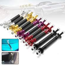 2 шт. 45 мм углеродное волокно Универсальный Регулируемый передний задний бампер для губ сплиттер штанги