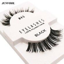 12 Pairs/Box Lash 3D Thick False Eyelashes Natural Makeup Eye Lashes Eyelash Extension Fake Eyelashes Lashes For Maquiagem
