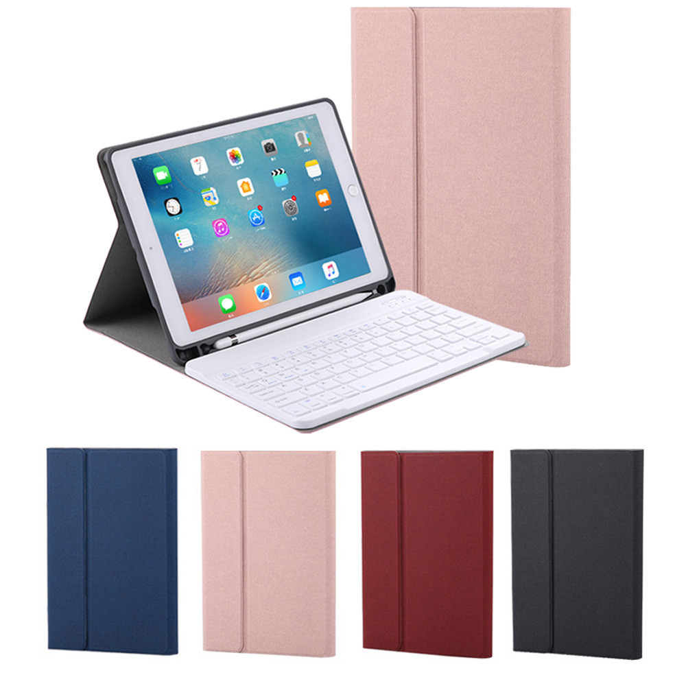 For iPad 9.7 2018/Pro 9.7/iPad Air 1 2 Ultra Thin PU Leather Case Cover Keyboard #T085For iPad 9.7 2018/Pro 9.7/iPad Air 1 2 Ultra Thin PU Leather Case Cover Keyboard #T085