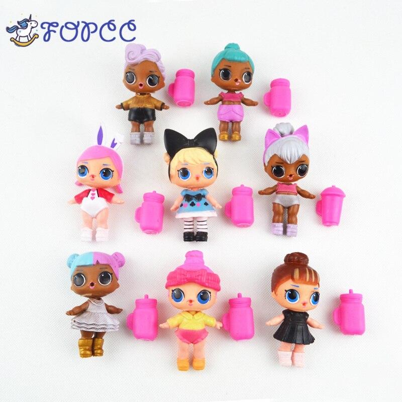 1PCS LOL willekeurige sturen Baby LOL girls Doll TOY kan water drinken kinderspeelgoed dolls Action Figure toys for girls