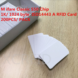 White rfid s50 chip mf1 1k 1024 byte writable smart ic card with iso14443 type a.jpg 250x250