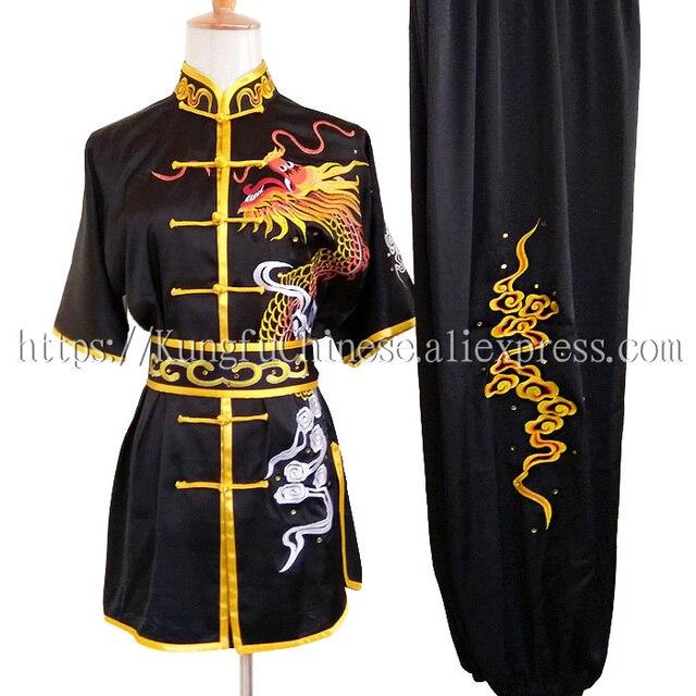 Китайская одежда для кунг-фу ушу равномерное боевых искусств костюм таолу одежды чанцюань одежда для мужчин и женщин для мальчиков и девочек детская