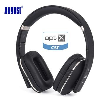 Sierpnia EP650 słuchawki bezprzewodowe z Bluetooth z Mic/Multipoint/NFC na ucho Bluetooth 4.1 Stereo muzyki aptX słuchawki dla TV, telefon