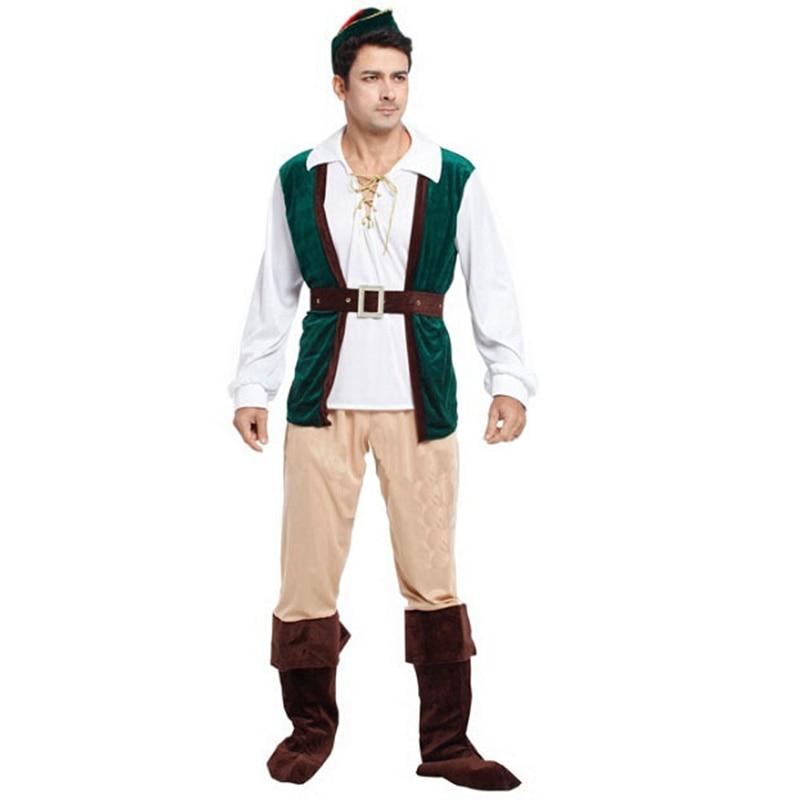 Színpadi előadások Halloween Party Dress Up Erdő férfi - Jelmezek