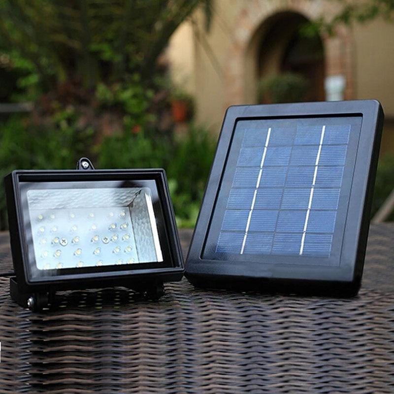 Ultra Bright Solar Street Light 30 LED Outdoor Spot Flood Light Solar  Powered Spotlight Lamp