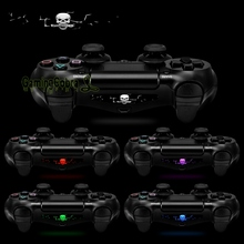 60 pcs Vinyl Reusable Wrap Led Cover Light Bar Decal for PS4 Slim Pro Skins
