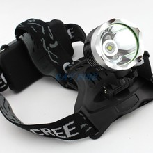 Waterprooof 2000LM LED Headlamp CREE XM-L T6 Light Camping Hiking Outdoor Portable Headlight