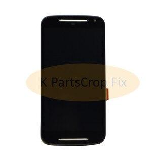 Image 4 - G2 lcd لموتورولا موتو G2 LCD XT1063 XT1064 XT1068 XT1069 عرض محول الأرقام بشاشة تعمل بلمس + الحافة الجمعية الإطار