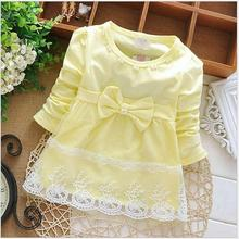 Long Sleeve Baby Girls Dress 2017