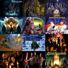 Music Blind Guardian 5d full drill diamond painting Blind Guardian 5D diy diamond embroidery Home Decoration Rhinestone blind guardian blind guardian a night at the opera blue vinyl 2 lp