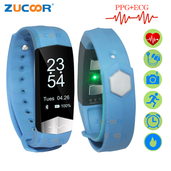 ZUCOOR Smart Bracelet ECG Blood Pressure CD01 PPG Heart Rate Monitor Tonometer Wristband Fitness Pedometer Activity Clock Watch Браслет