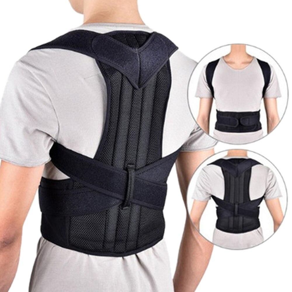 Posture Corrector Comfortable Back Support Brace Shoulders Upper Back to Proper Position#7.12