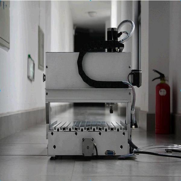 Tornio cnc mini vendita calda AMAN 3040 - Attrezzature per la lavorazione del legno - Fotografia 4