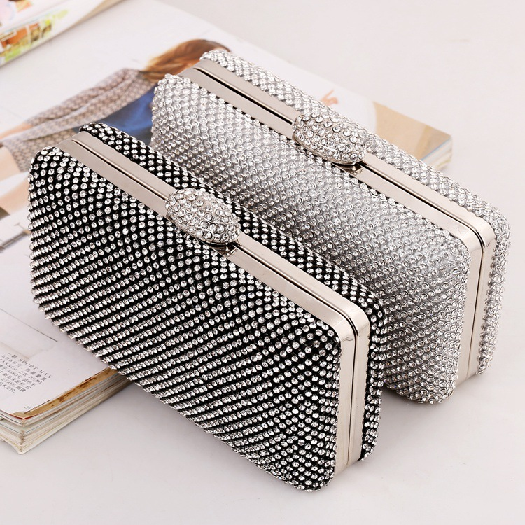 2016 New Arrival Special Offer Flap European And American Package Evening Bag Box Diamond Night Field Hand Ladies 6237 Bags 2018 special offer solid new arrival