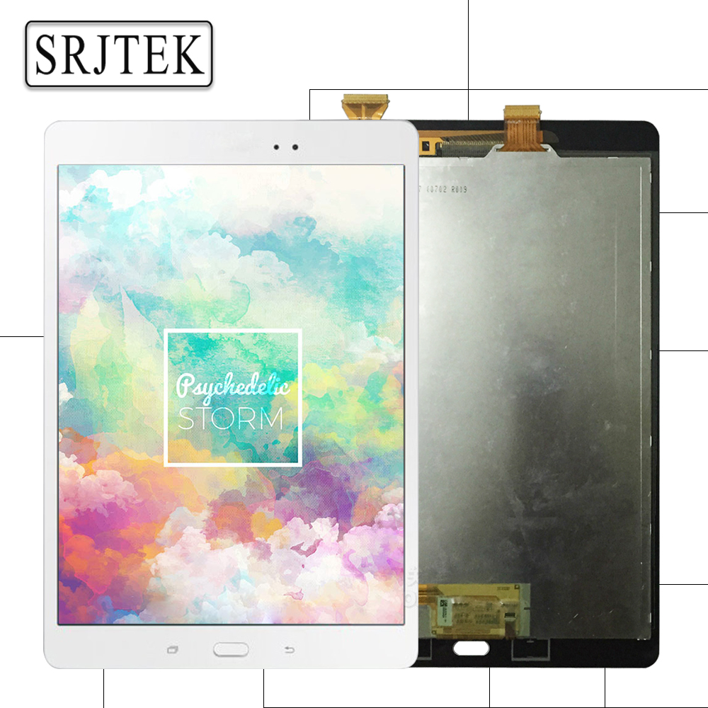 Srjtek For Samsung GALAXY Tab A 9.7 P555 P555C SM-P555 LCD Display Touch Screen Digitizer Matrix Panel Tablet Assembly Parts tablet lcd assembly for samsung galaxy tab a 9 7 sm p550 p550 display with touch screen digitizer panel lcd combo replacement