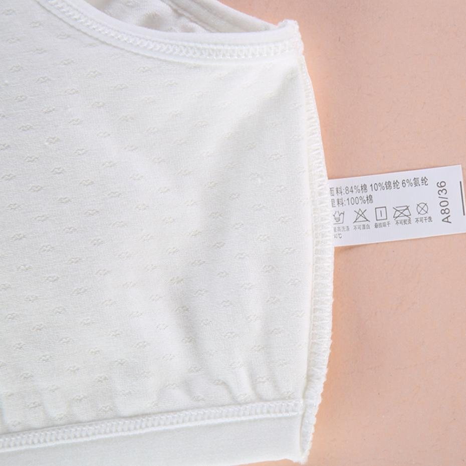 d6cea9d2eba WoFee Teenage Girl Underwear Training Sleeping Cotton Loose Braeathable Bra  without Back Hooks BY5101-in Bras from Mother & Kids on Aliexpress.com |  Alibaba ...