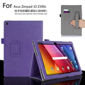 For ASUS Zenpad 10 Z300C Z300CL Z300CG 10.1 inch Tablet Luxury Leather Card Wallet Hand Strap Stand Case Cover