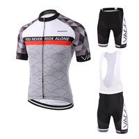 VAGGE Fashion Bike Clothing High Quality Sports Clothes Bicycle Cycling Jerseys Quick Dry Breathable Cycling Wear
