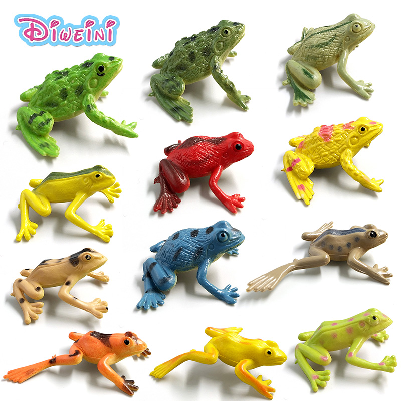 Frog Model Bonsai-Figurines Magic-Fairy Crafts Miniatures Garden-Decoration Simulation-Animals