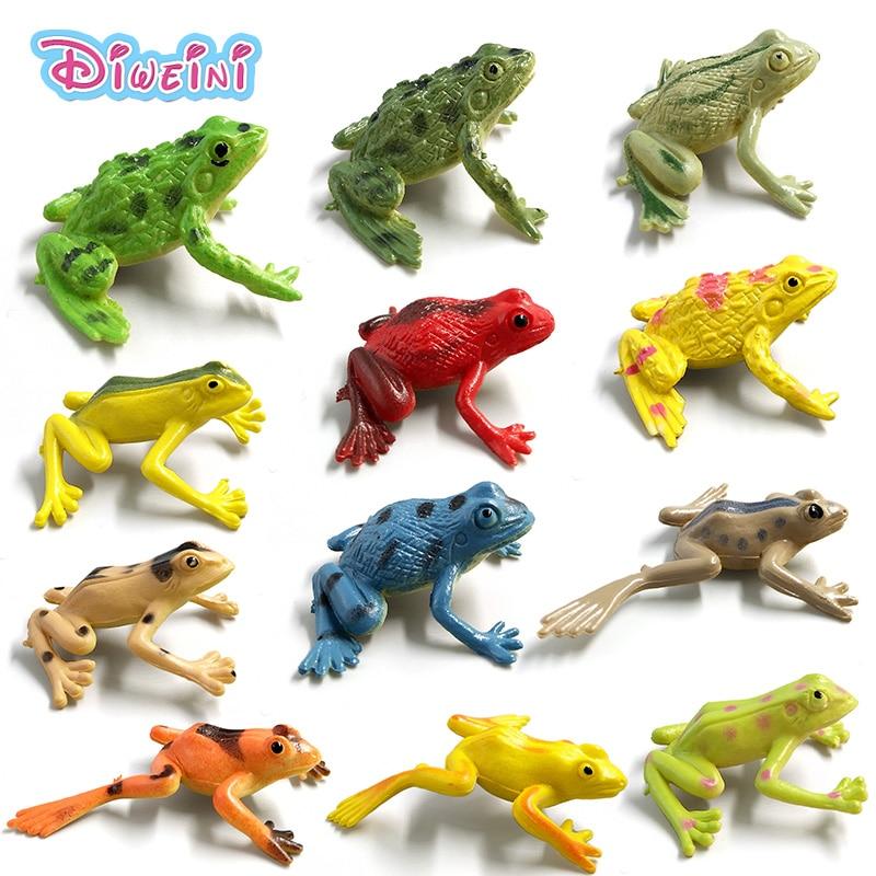 Diy Magic Fairy Garden Decoration Miniatures Cartoon Anime Simulation Animals Frog Model Micro Landscape Bonsai Figurines Crafts