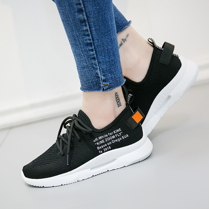 faf149d25c5 Air mesh breathable shoes lace up shoes woman solid cotton fabric women  sneakers sewing wedges shoes for women 2018 new-in Women s Vulcanize Shoes  from ...