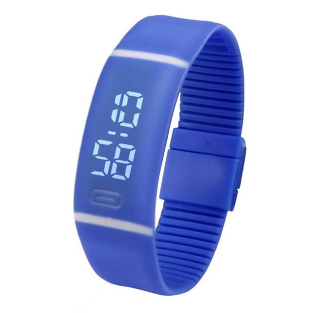 Silicone Led Sports Watches Men Women Dress Children Electronic LED Digital Watch Man Ladies Morning Running Sport Watch F3
