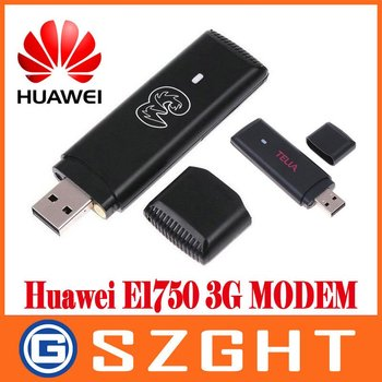 HOT SALE free shipping 100% UNLOCKED Huawei E1750 HSUPA HSDPA 3.5G USB Dongle Modem For Notebooks & Tablet PC's GOOD QUALITY