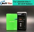 100% Nueva BT-557P Batería + Base de Escritorio Cargador de Pared 4000 mAh de Litio-ion para LEAGOO Elite 5 + número de seguimiento