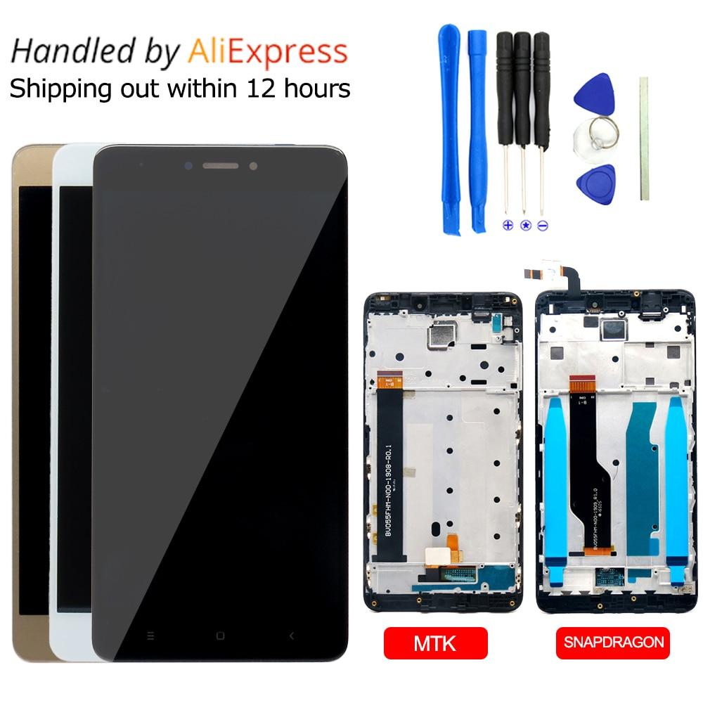 Para Xiaomi Redmi Nota 4 LCD Screen Display Toque Digitador Assembléia para Xiaomi Nota Redmi Nota 4 4X Global Substituição partes