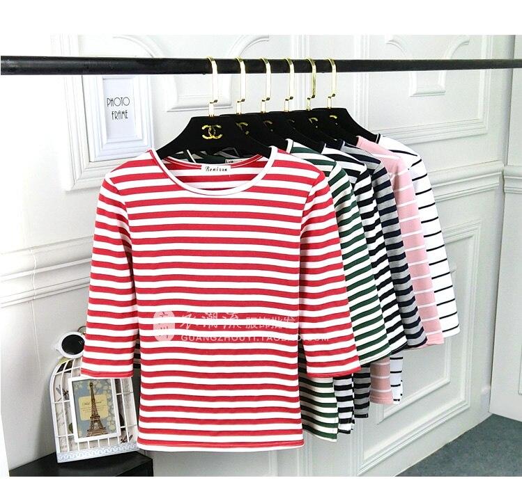 As novas roupas das mulheres edição han 7 minutos de renderização sem forro jaqueta feita de puro algodão de manga comprida T-shirt feminina vestuário superior