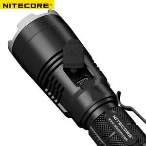 Image 5 - Yeni Nitecore MH27 el feneri CREE XP L HI V3 LED 1000LM RGB LED yüksek parlak Torch su geçirmez ücretsiz kargo