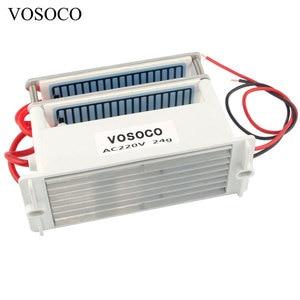 Image 3 - אוזון גנרטור 24 g/h נייד Ozonizer אוויר מים מטהר אוויר מנקה מעקר טיפול ארוך חיים פורמלדהיד הסרת 220V