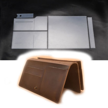 Stencil-Template Leathercraft-Tool-Set Wallet Handbag Sewing-Pattern for DIY Cell-Phone-Bag