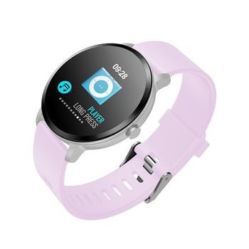 Mujeres Actividad Los Smartwatch Vidrio Fitness Reloj Ip67 Inteligente Las Deporte Cardíaco Ritmo De Templado Impermeable V11 Monitor qzMGLVUSp
