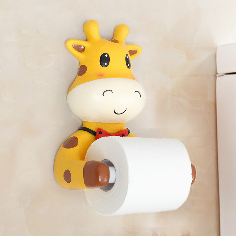 Cute animal tissue paper holder rack tissue box Creative resin bathroom toilet wall mounted roll paper tray mx5211550Cute animal tissue paper holder rack tissue box Creative resin bathroom toilet wall mounted roll paper tray mx5211550