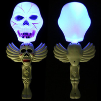 LED Light Ghost pumpkin Stick Wands Rave Cheer Party Flashing Glow Stick Light Sticks halloween decoration Glow Party Supplies