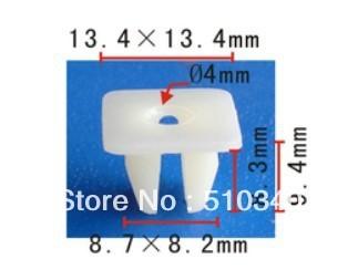 Frete grátis 100 pcs caso fastener clipe farol porca de ajuste do parafuso para Honda prelude & accord 90676-SA7-003