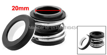 MB2-20 Ceramic Ring Rubber Bellows 20mm Inner Dia Pump Mechanical Seal image