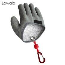 Lawaia Catch Fish Gloves Non-slip Wear-resistant Anti-fishing Waterproof PE Line Braided Latex Fishing Supplies