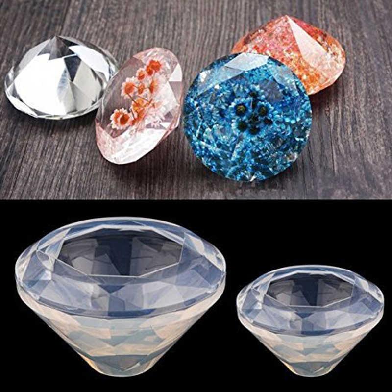 Silicone Mold Shaker Mold UV Resin Mold 45mm Large Diamond Mold Kawaii Resin Mold Epoxy Charm Mold Resin Mold Mold