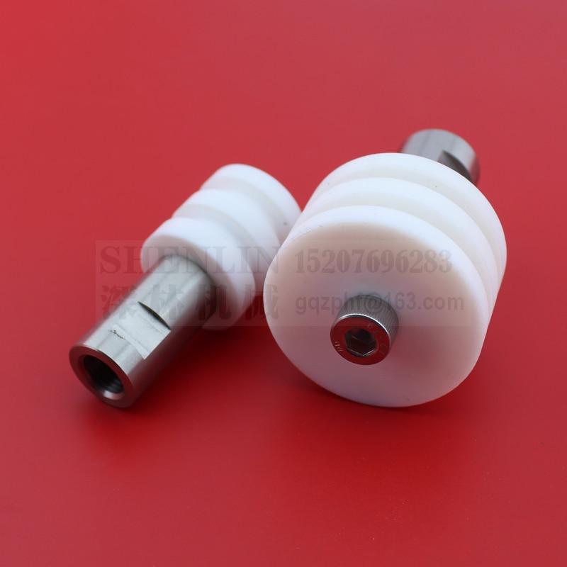 SHENLIN Piston Of Filling Machine For 100ml 300ml 500ml 1000ml 2500ml 5000ml With Connector Filling Machine Spare Part