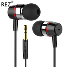 Metal Bass Earphone Original Brand FuQing Good Quality Universal Music Noise Isolating Headset for Gaming Player Mp3 PC DJ