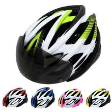 2016 EPS Bicycle Helmets 5 Color PRO Cycling Helmets Men Women Fixed Gear Road MTB Bike Helmet With Magnetic Goggles Accessories